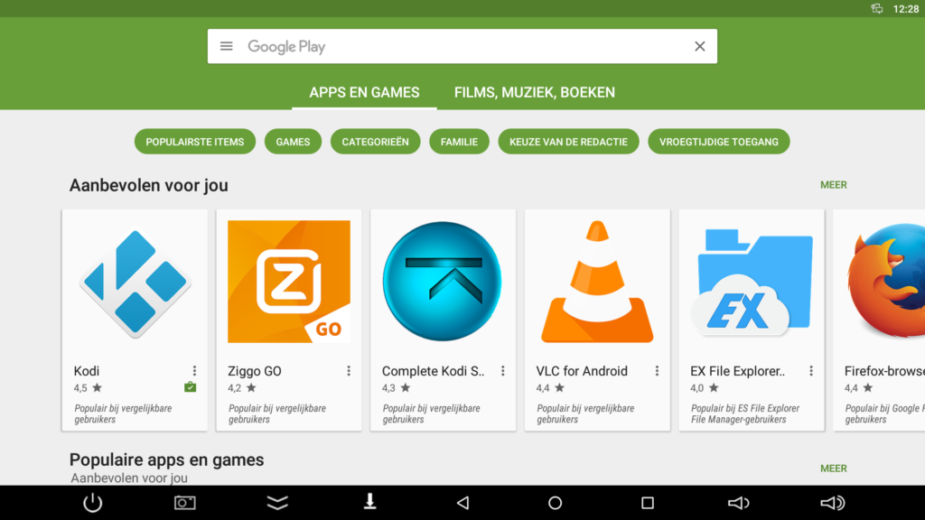 Streambox Google Play Store